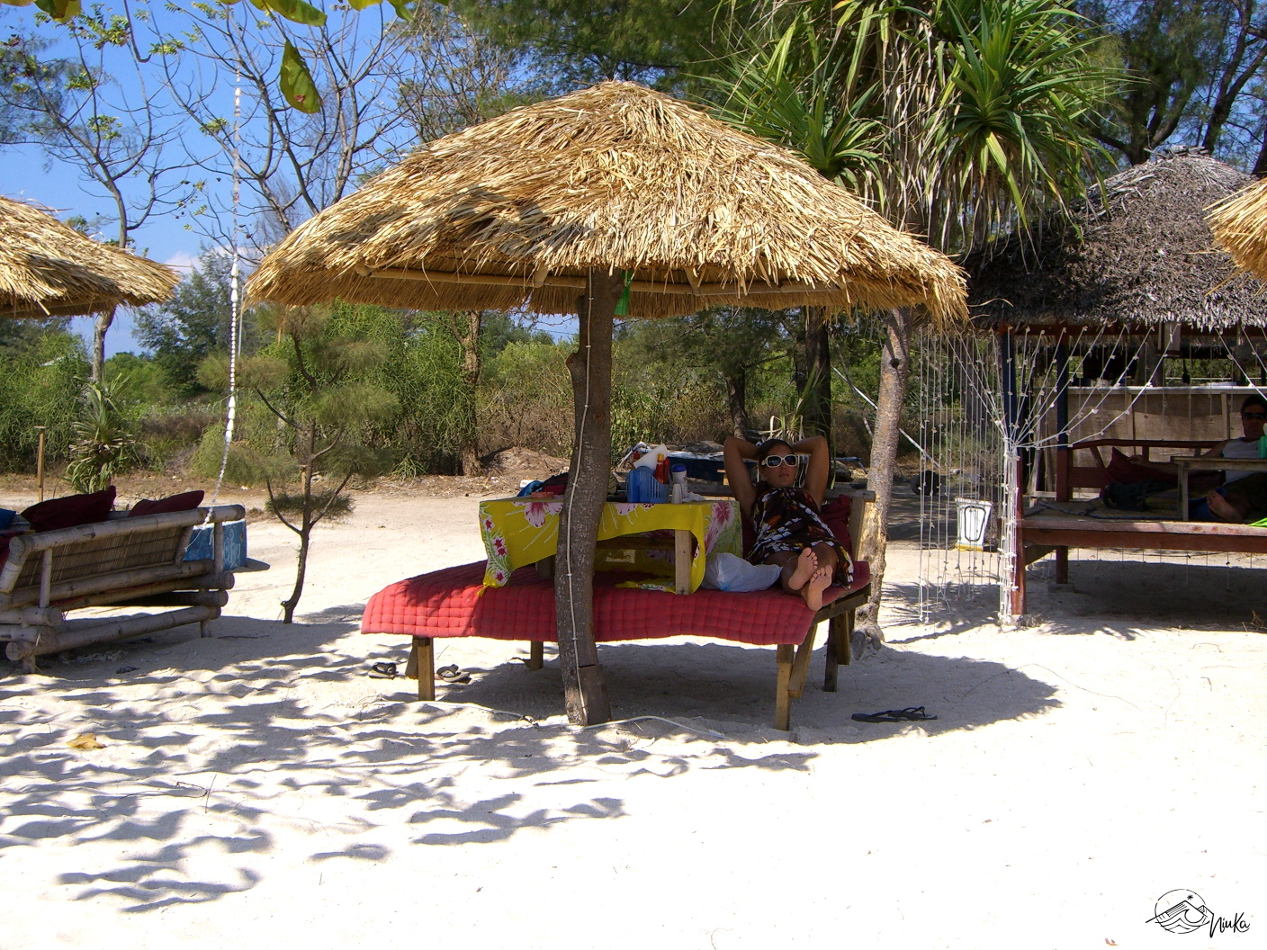 Relaxing on Gili Meno