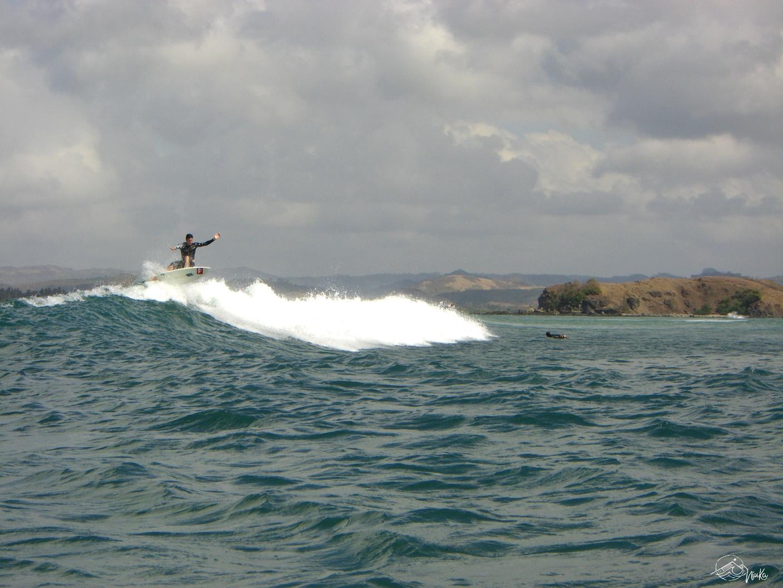 Surfen in Gerupuk, Lombok