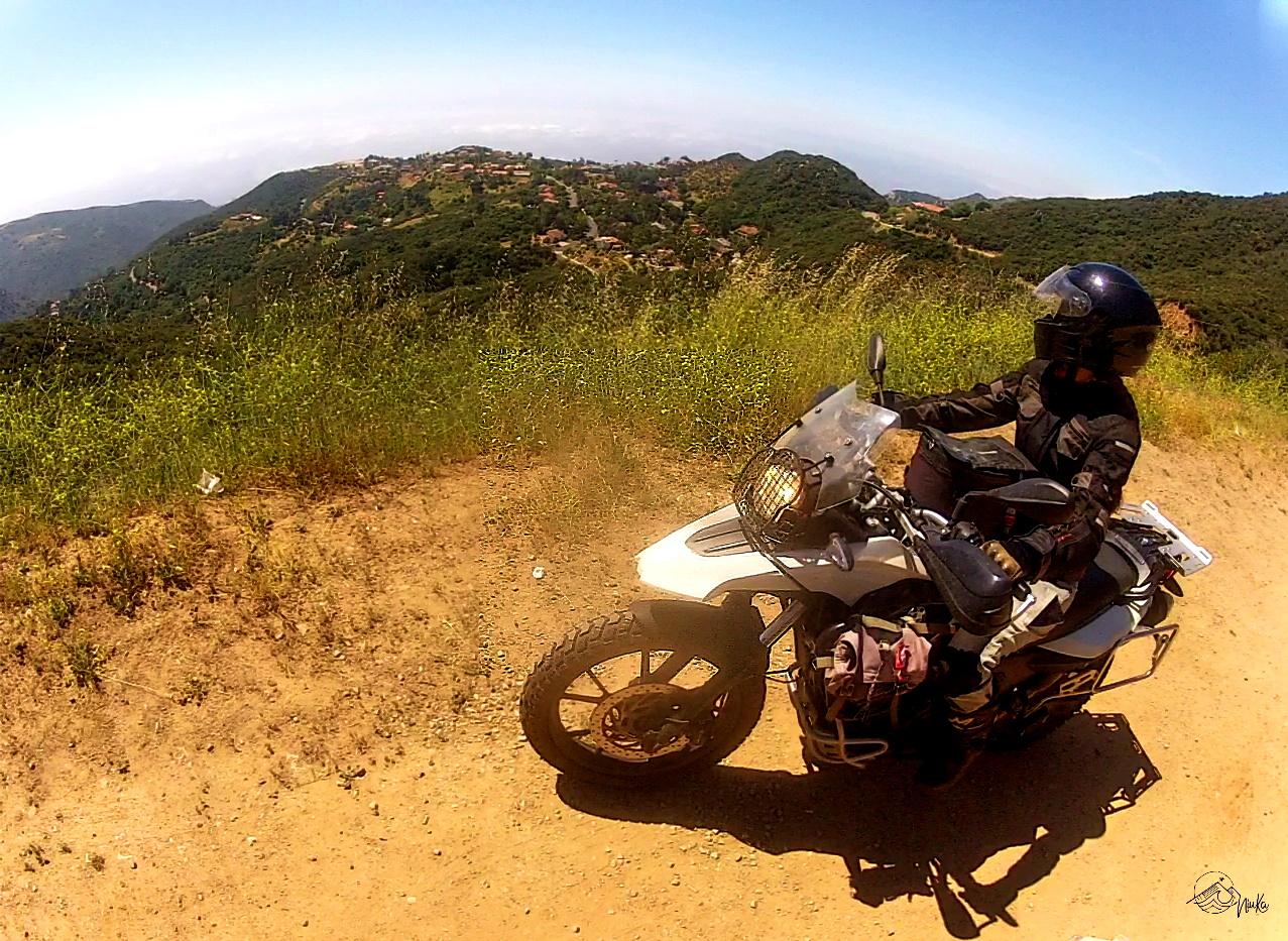 Motorradtour nach Malibu