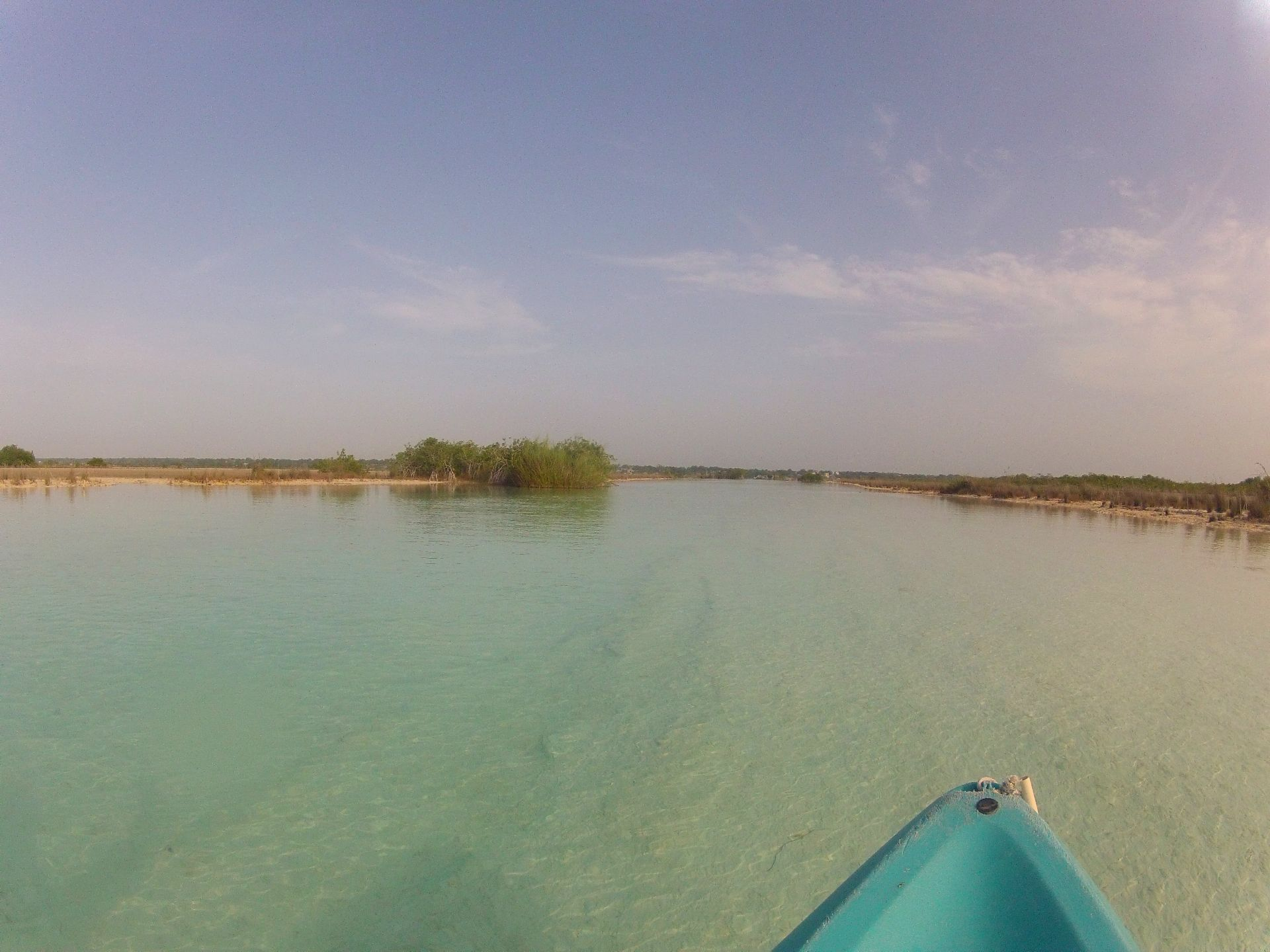 Kayaktour Laguna Bacalar