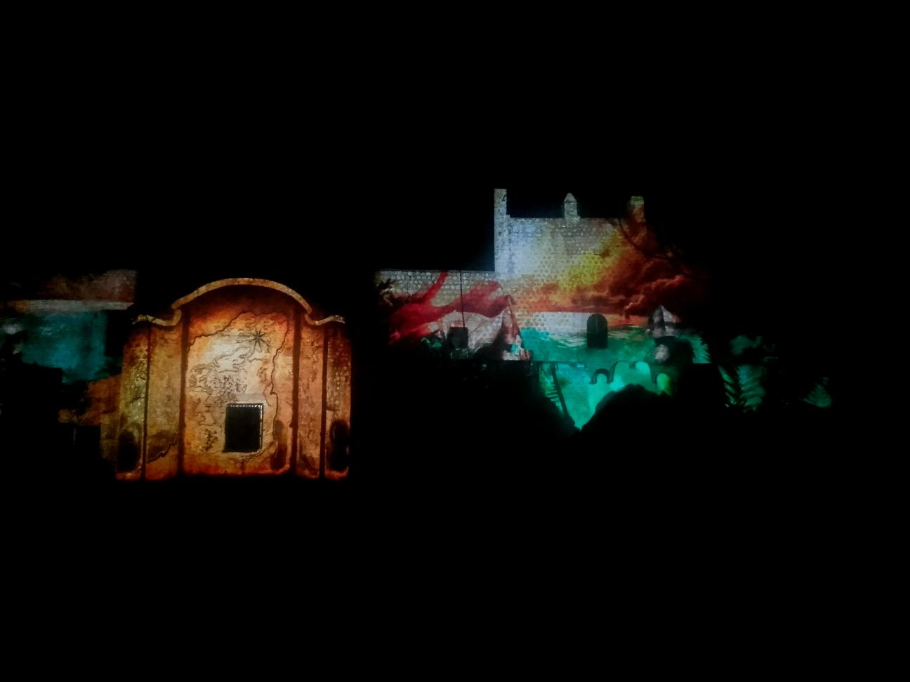 Lichtspektakel Convention San Bernardo, Valladolid