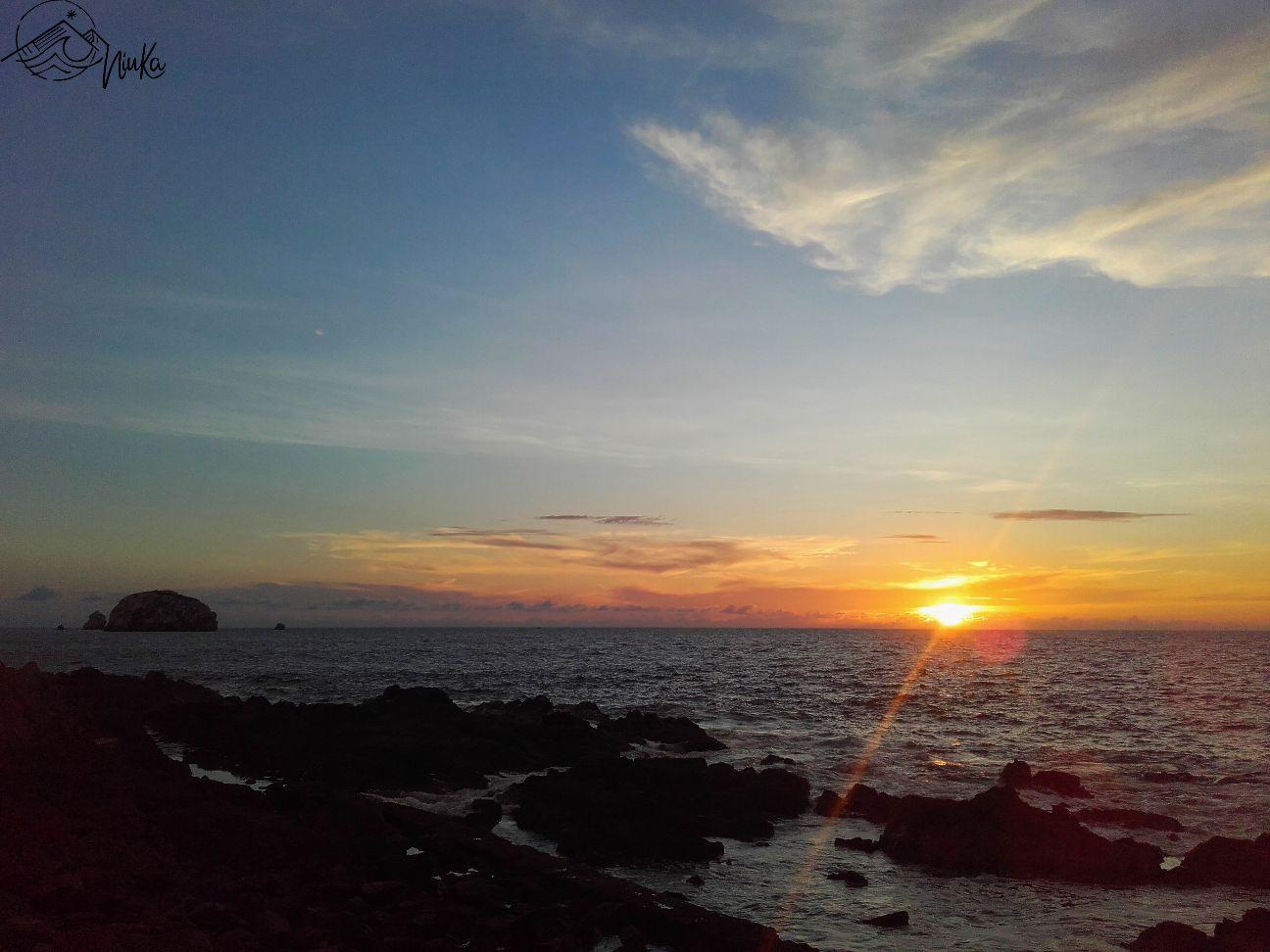 Sonnenunntergang in Mazatlán