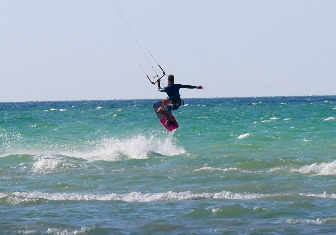 Kiteboarding in Progreso