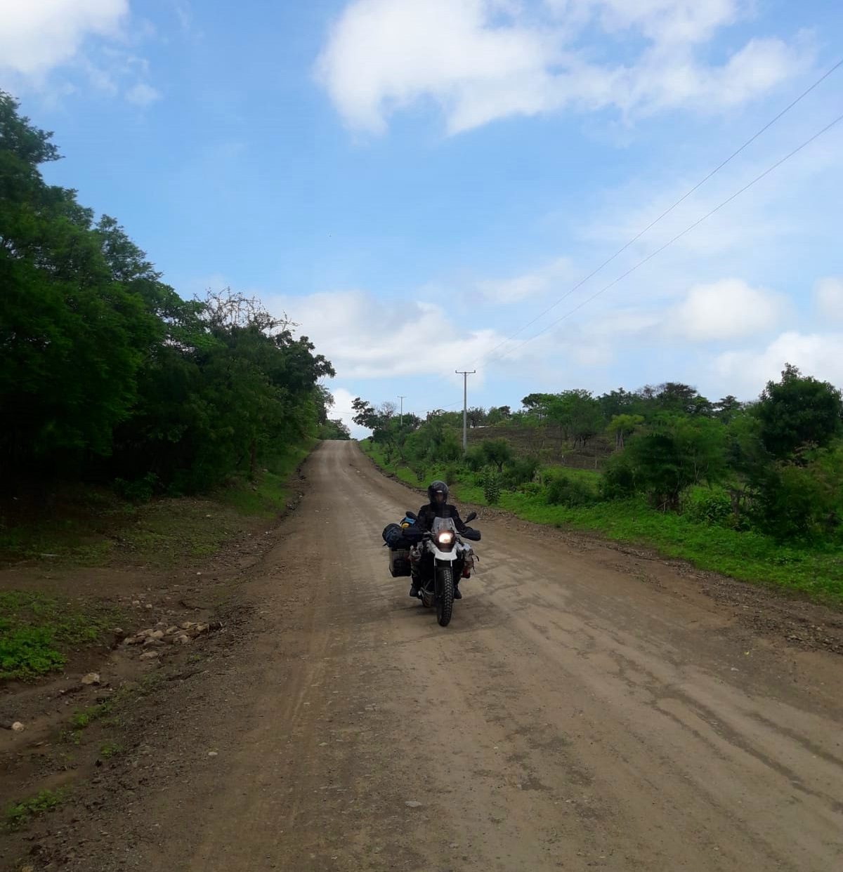 Road to El Transito, Nicaragua