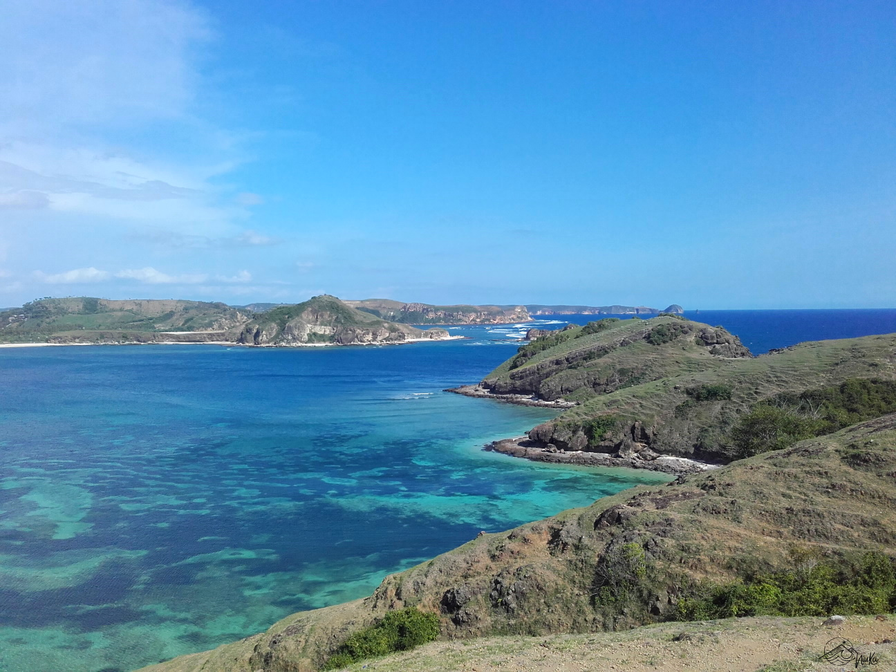 Blick auf Tanjung Aan