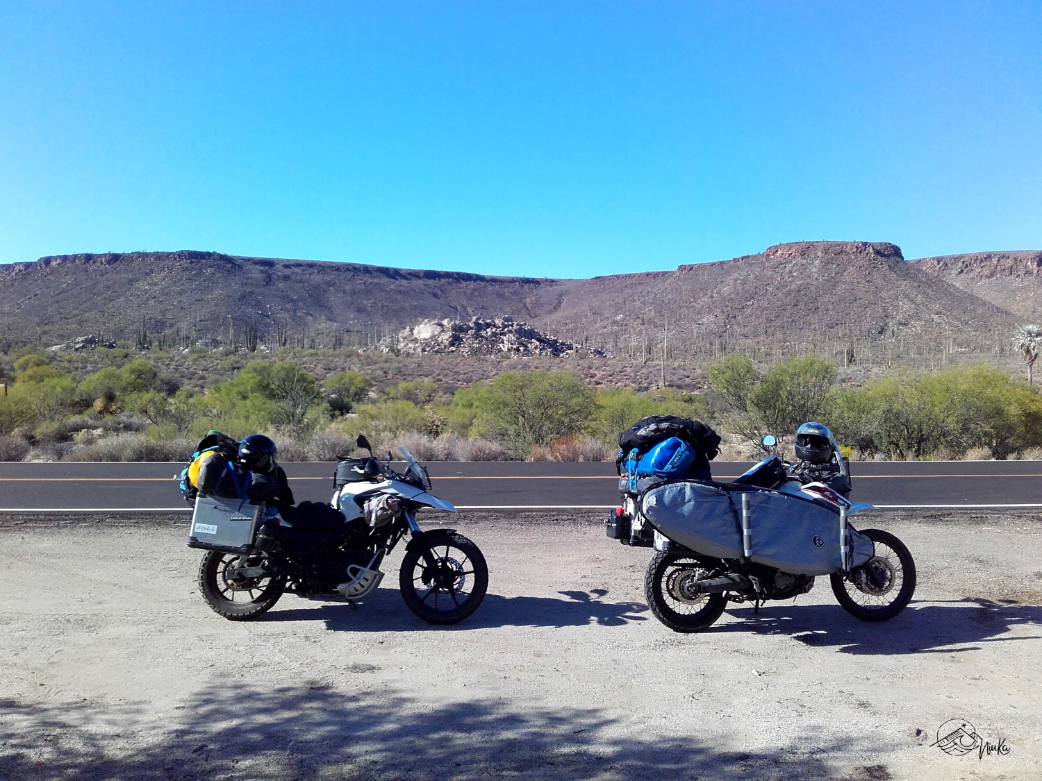 Ride through nothern Baja