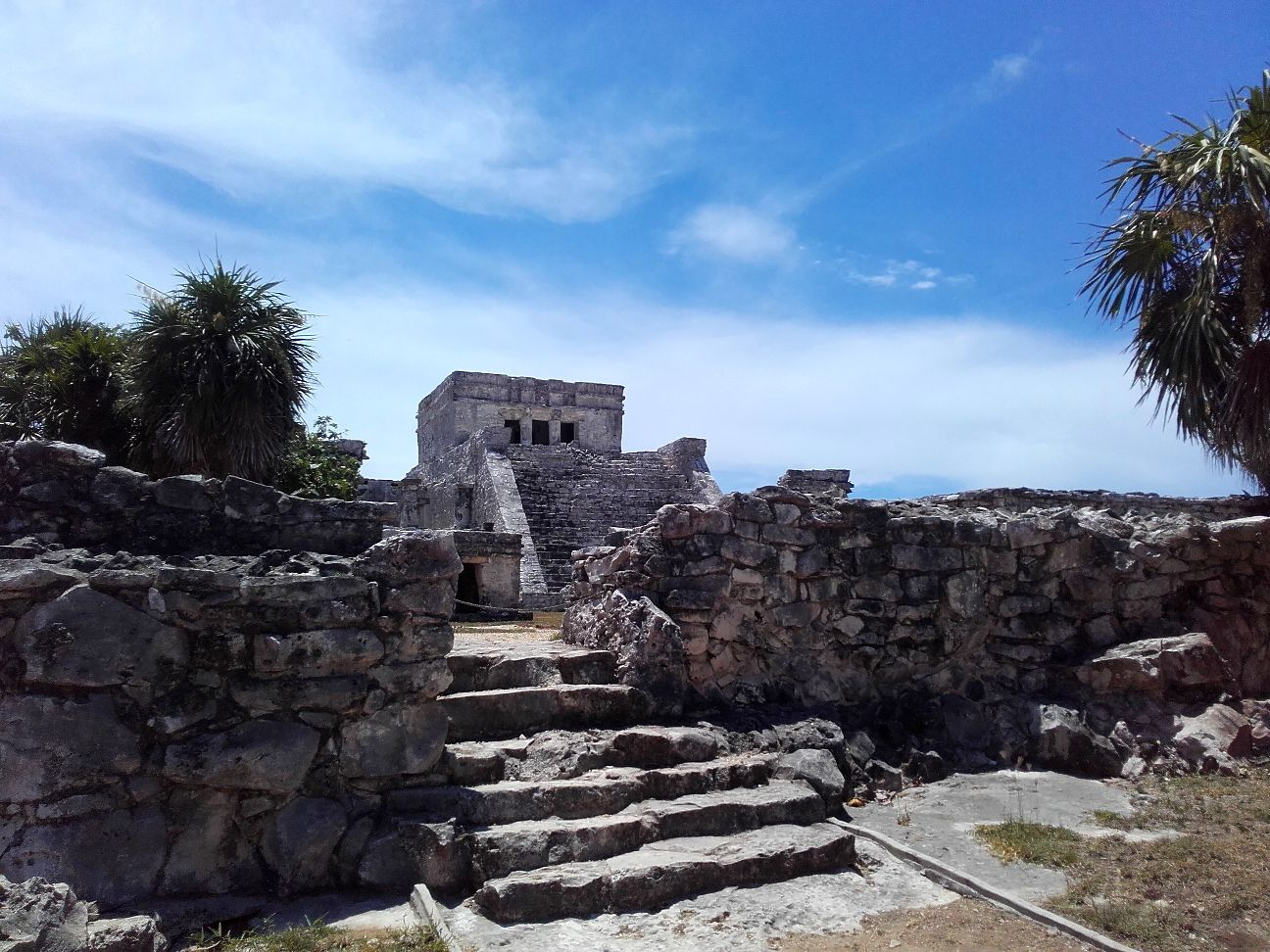 Tulum Maya Ruine