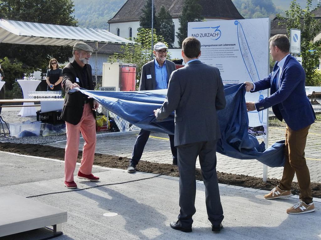 Eröffnung Bahnhofsspange