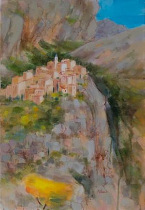 PEILLON (huile sur toile) 55 x 33 cm JF.Millan