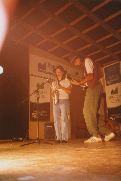 1999 in Argentinien, mit Roberto Ingolotti