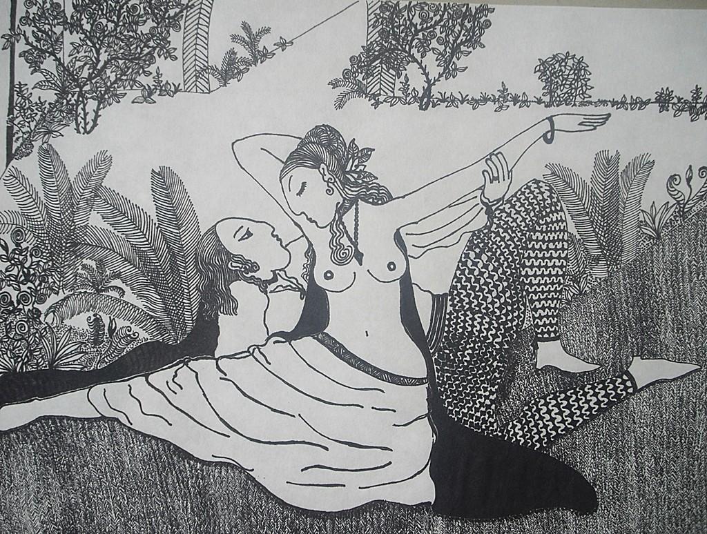 """´""""Die Liebenden""""; 2010. VERKAUFT."""
