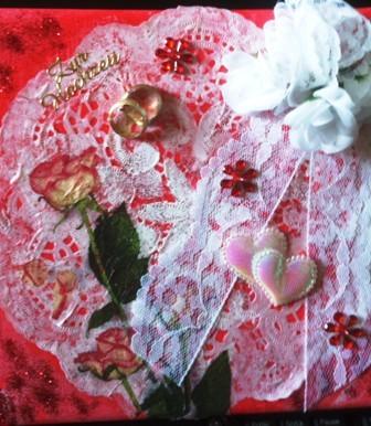 """1. """"Hochzeit"""" - Ein Beispiel-Bild für den """"schönsten Tag des Lebens"""". Die Bilder lassen sich personalisieren. Preis ab 5 €, je nach Größe und Aufwand"""