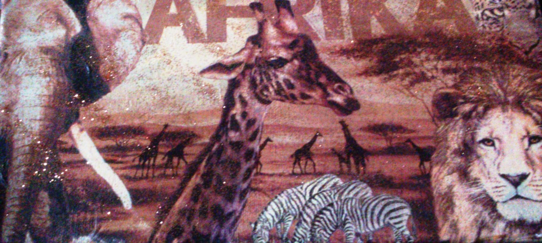 """""""Afrika"""" - 15 x 30 cm, Art.-Nr. TAF032016"""