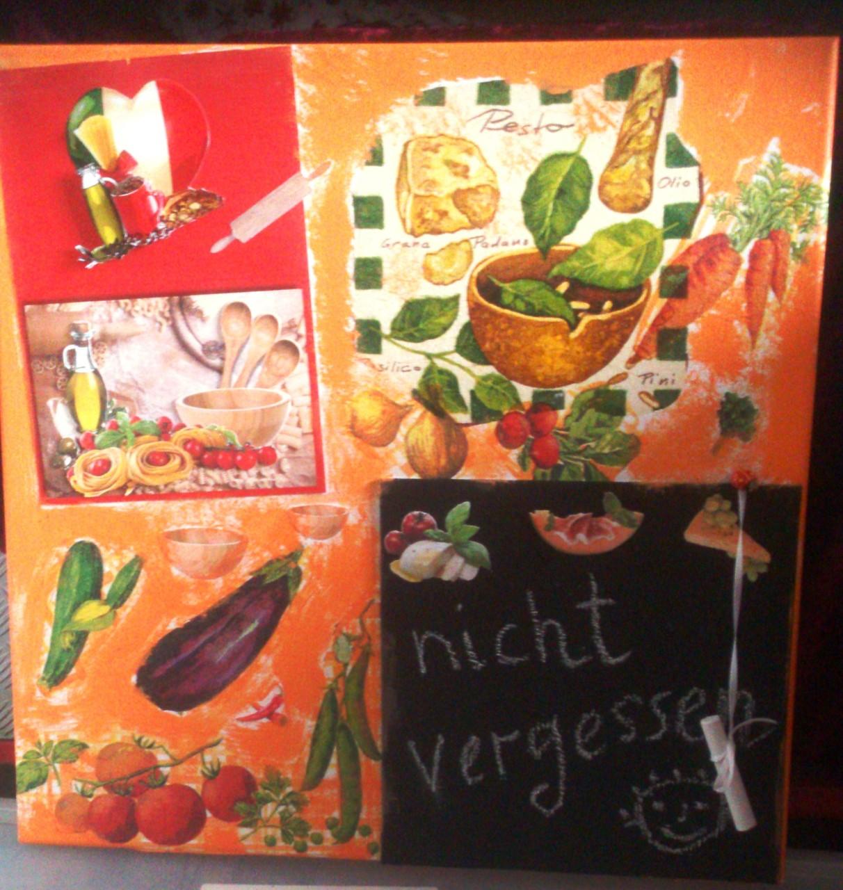"""""""Nicht vergessen"""" - 40 x 40 cm, Art.-Nr. KNV032016"""