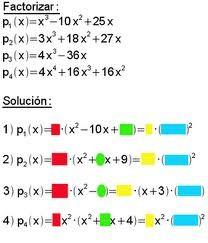 Trinomios cuadrados perfectos