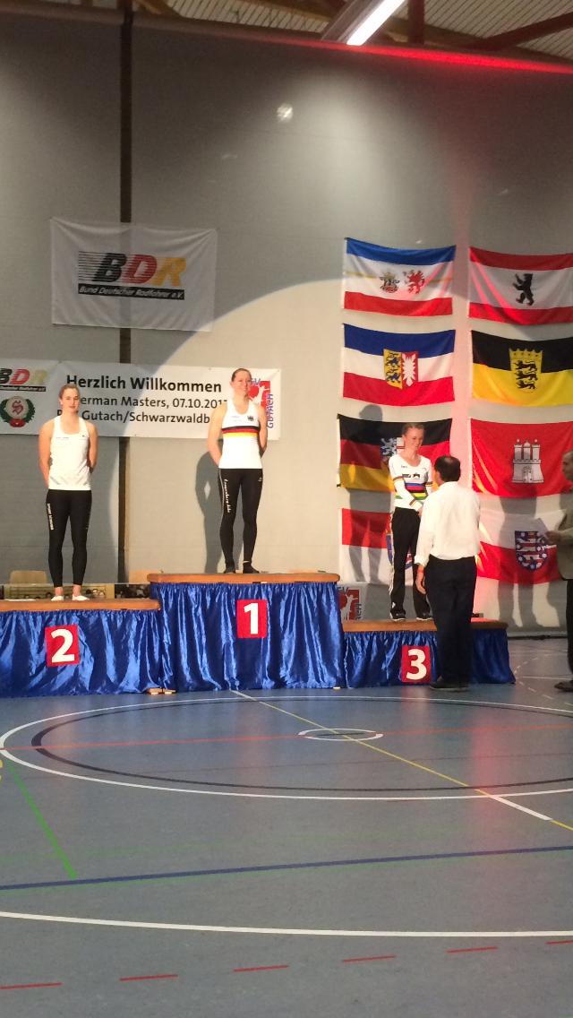 Siegerehrung Finale 3. German Masters