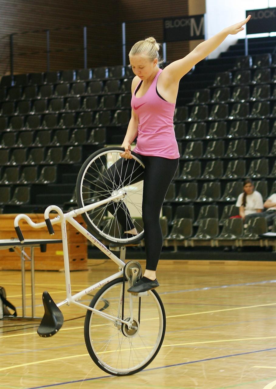 Johanna Graff zeigt Standsteiger