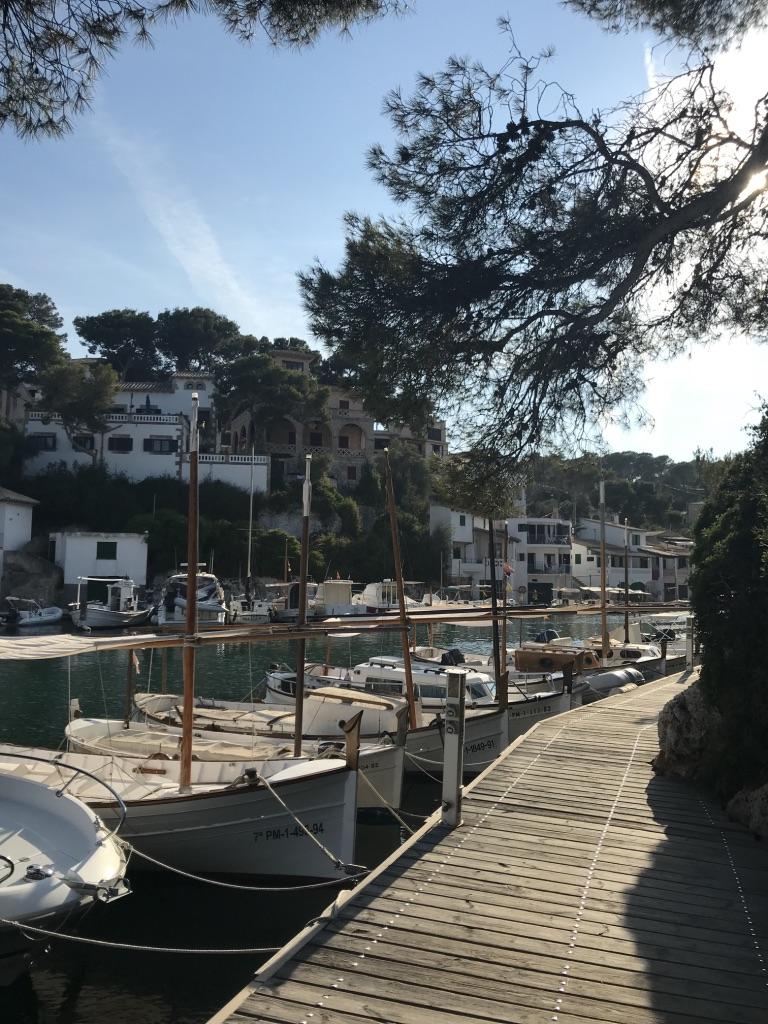 Fischerhäuser in Cala Figuera
