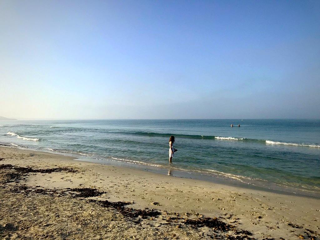 am Strand von Es Trenc