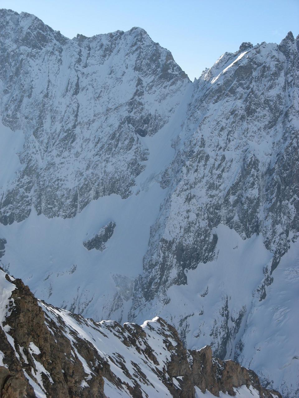 Couloir Nord de Roche Faurio, une valeur sûre à ski!