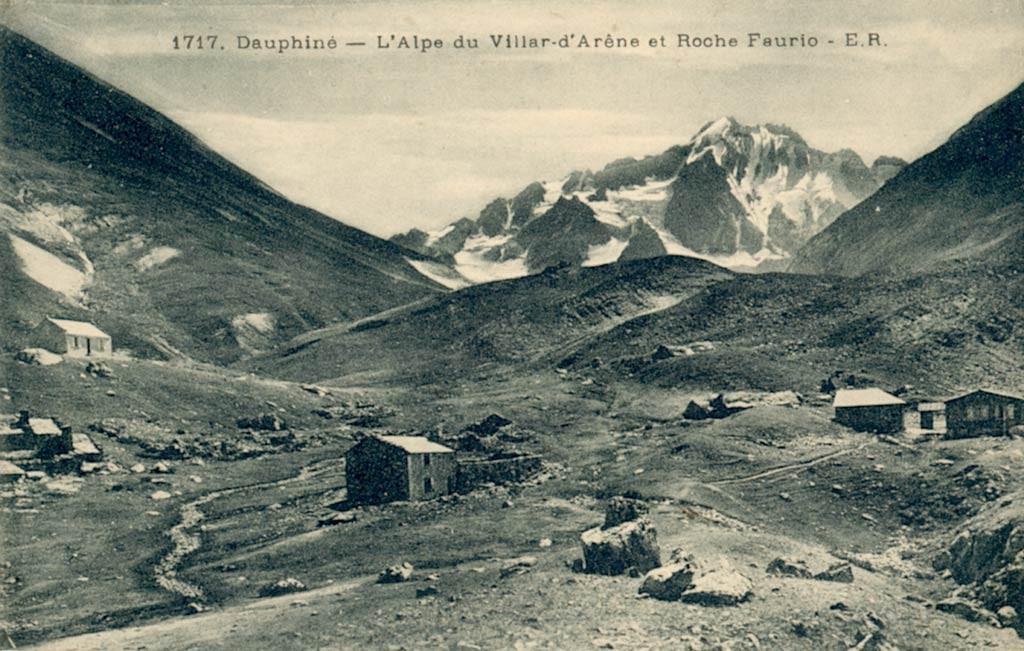 les chalets de l'Alpe, au siècle passé, plus d'une vingtaine de bâtisses était présentes, il en reste 3 aujourd'hui!......