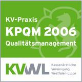 Zertifizierung KPQM Qualitätsmanagement Venenpraxis Dr. Borchard