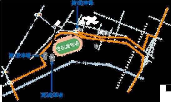 名馬オグリキャップを輩出した競馬場「笠松けいば」(岐阜県笠松町)までのアクセスと駐車場