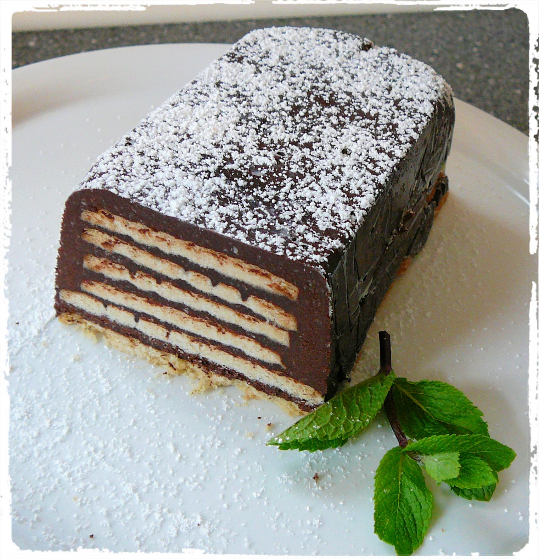 Schoko-Keks-Torte a.k.a. Kalter Hund