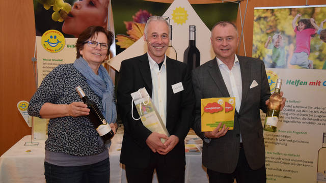 Doris Pikisch, Stadtgalerie; Stefan Keller, Veranstalter; Hans Stefan Hintner, Bürgermeister Mödling