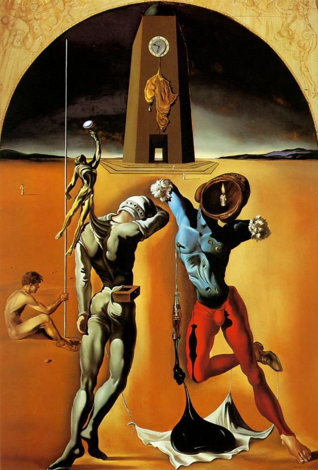 The Poetry of America (1943) Salvador Dalí.