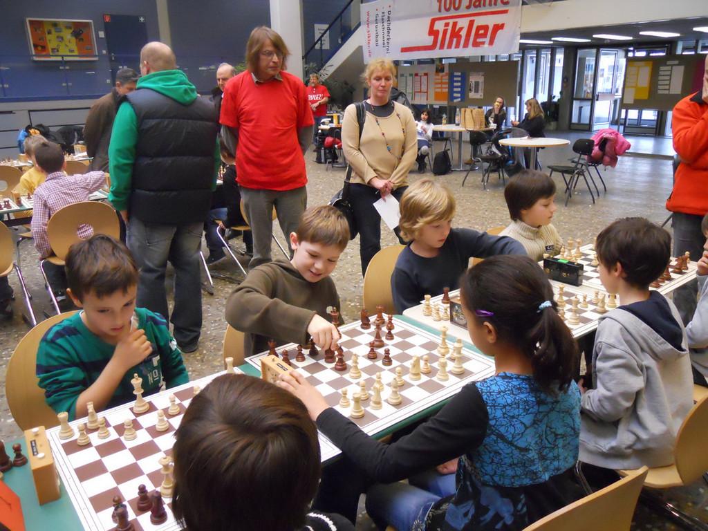 Halbfinale: Kirchhaldenschule 1 - Kirchhaldenschule 2