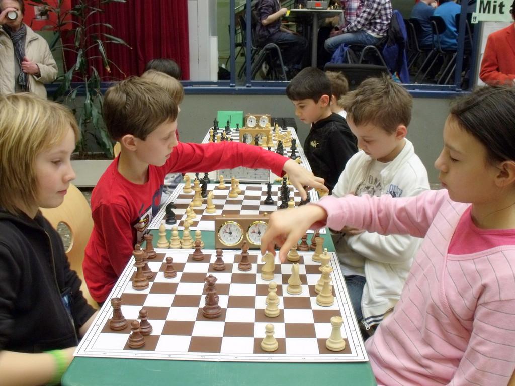 Halbfinale Riedseeschule - Lerchenrainschule