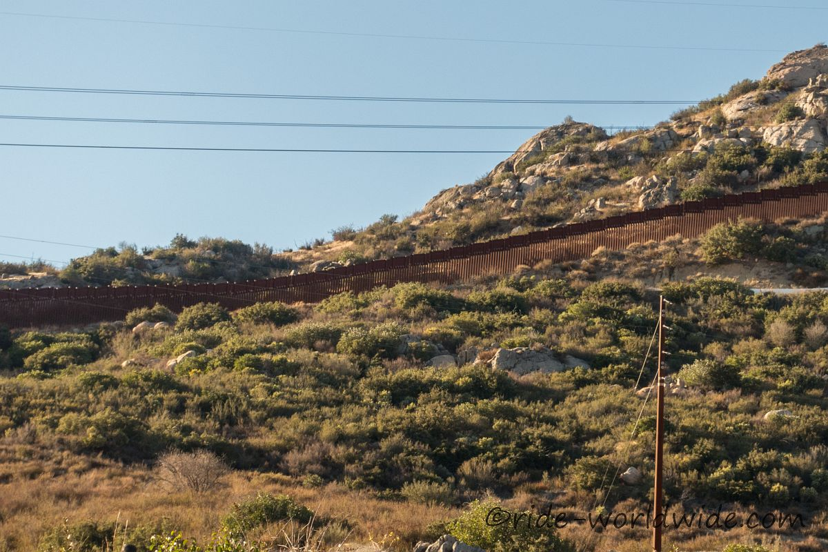 The Wall... Mexiko wir kommen