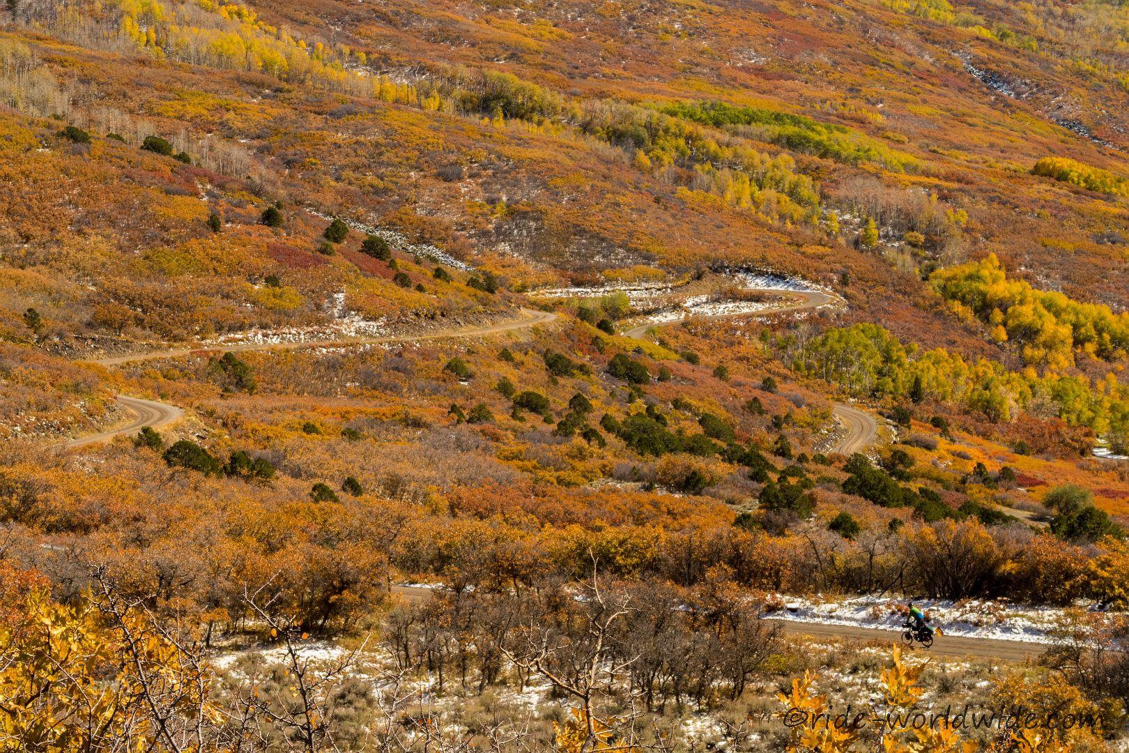 Herbst auf der Land Ends Road