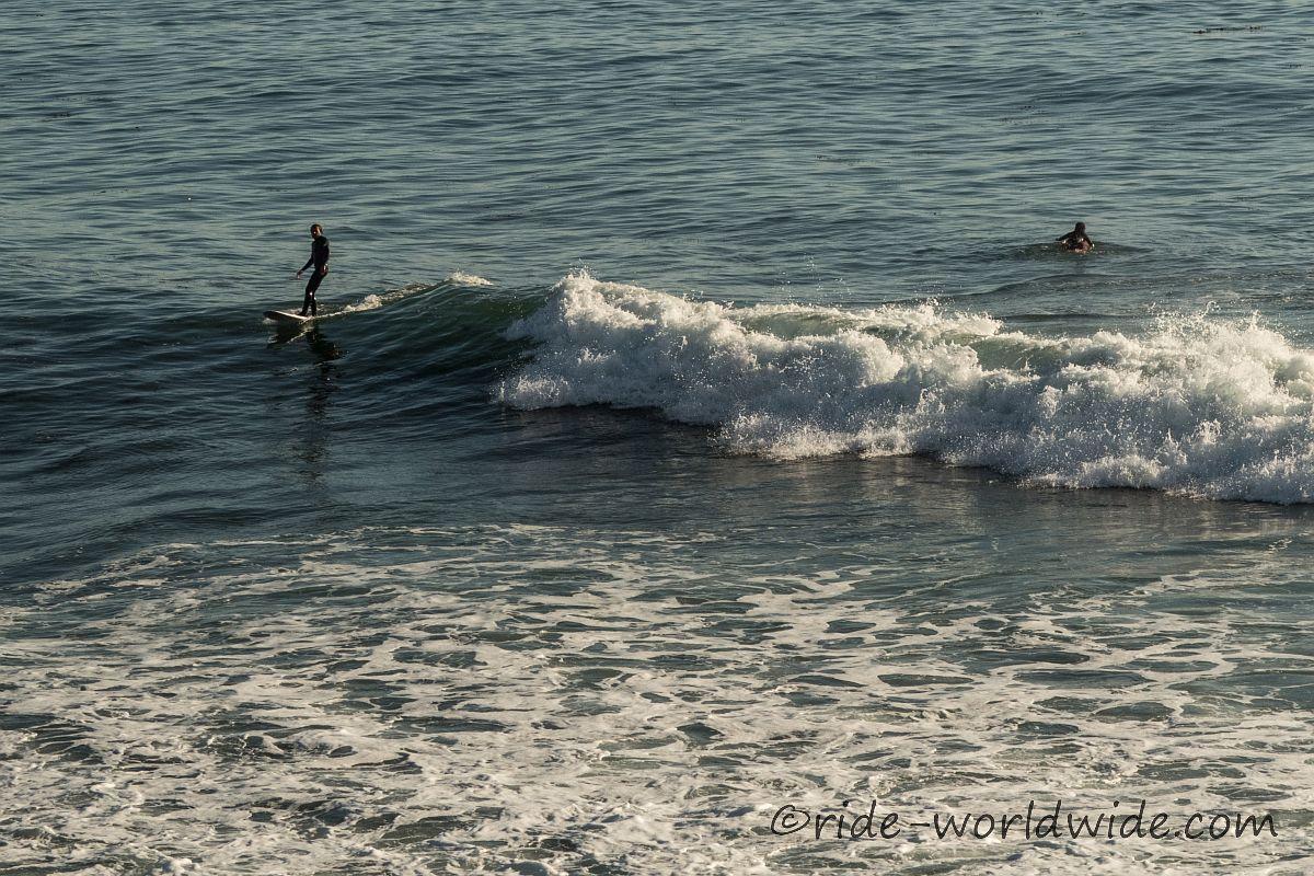 Die Baja ist äußerst beliebt bei Surfern