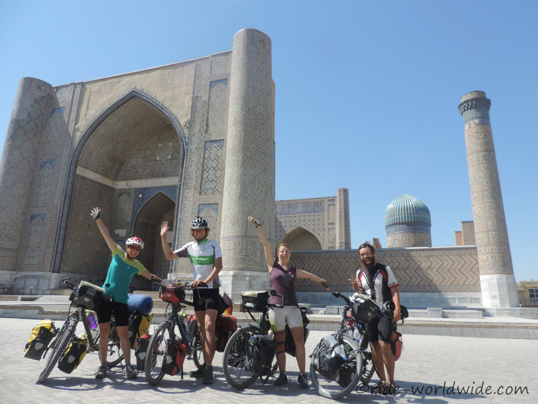 Bibi-Khanum-Moschee in Samarkand
