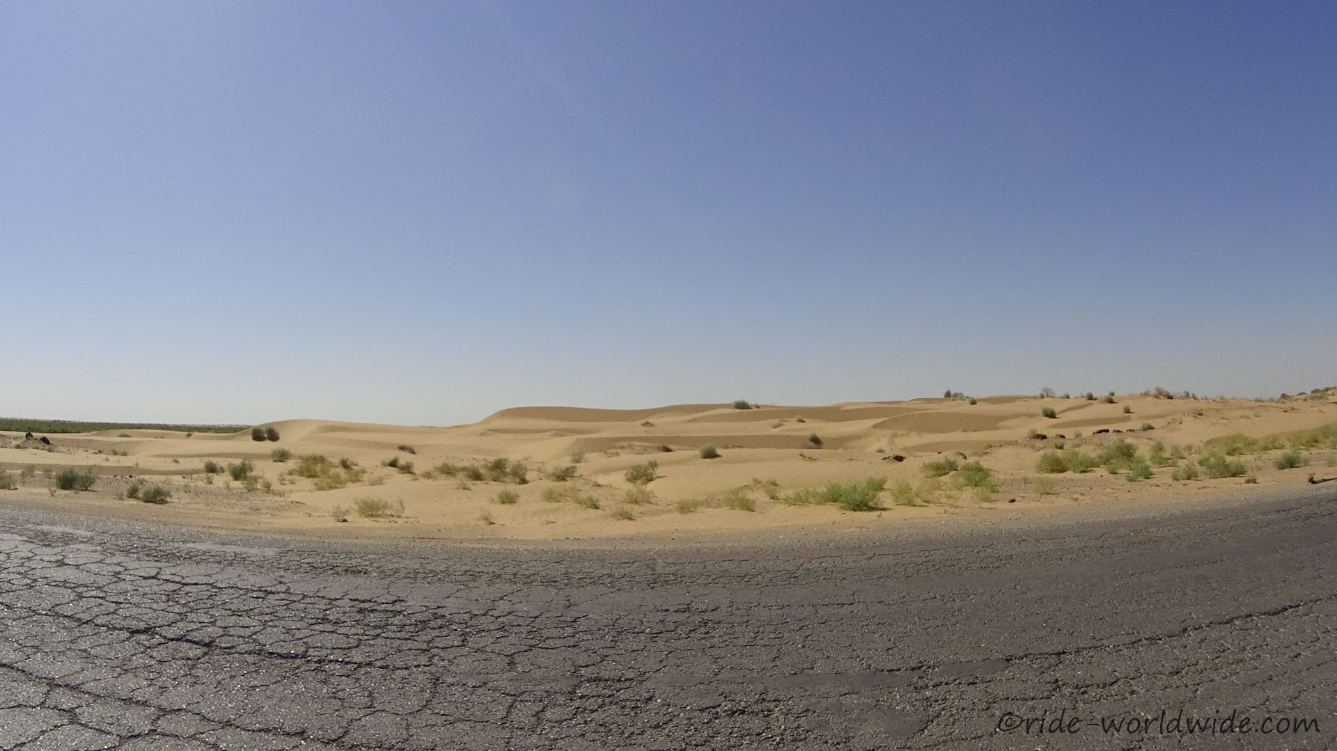 Wüstenaussicht