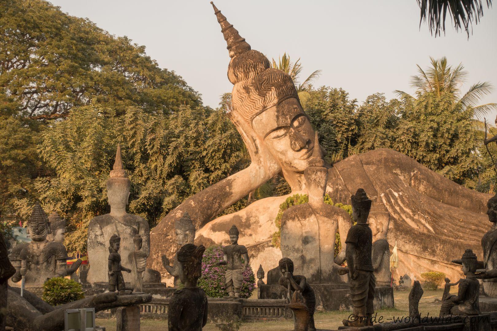 Buddha Park von außen