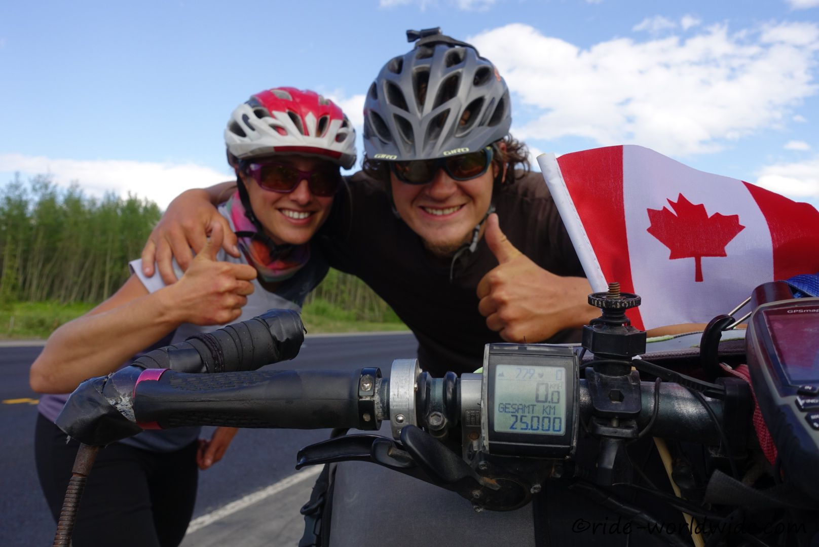 Kanada 25.000km. Ist das etwa schon Halbzeit?