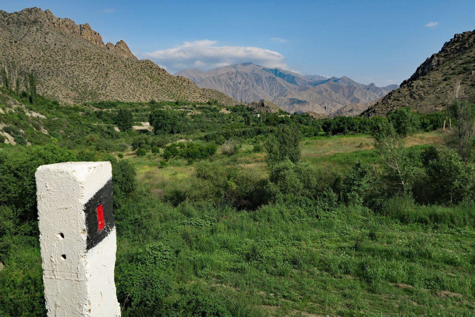 Iranische Berge wir kommen