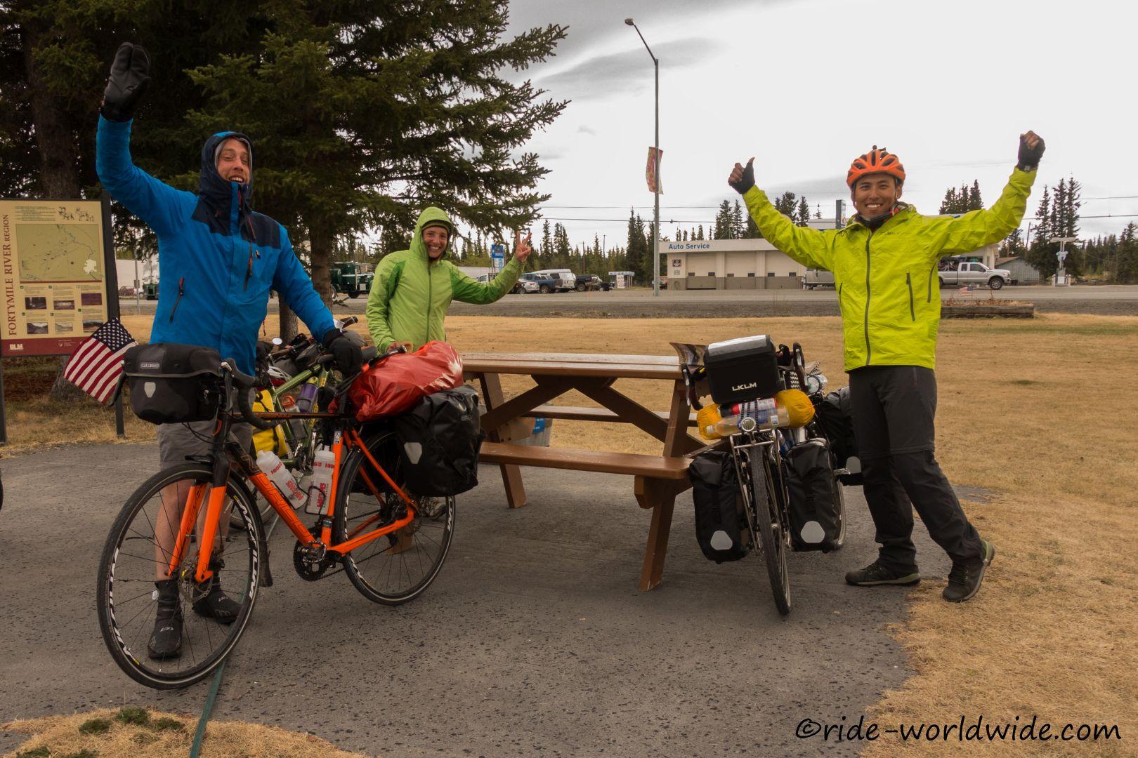 Ziel Patagonien... mit Eric aus GB und Su aus China