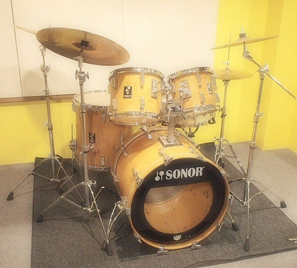 SONOR / 80's LITE SET:22BD 10&12TT 16FT