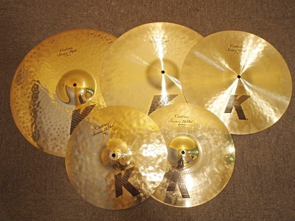 ZILDJIAN / K.CUSTOM SESSION CYMBAL SET:RIDE 20 / CRASH 18 & CRASH 16 / HH 14