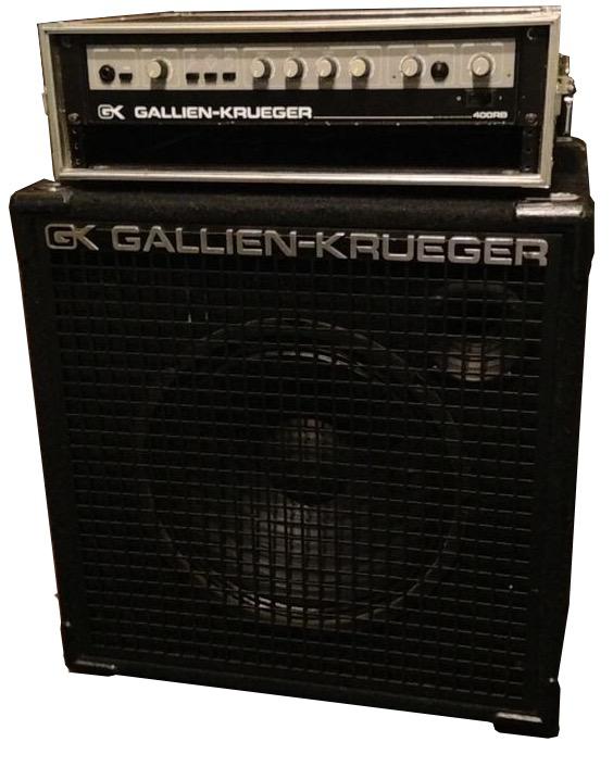 "GALLIEN-KRUEGER / 400RB+115SBX ■サイズ:H584 W584 D457 ■200W+200W/ 15""x 1"