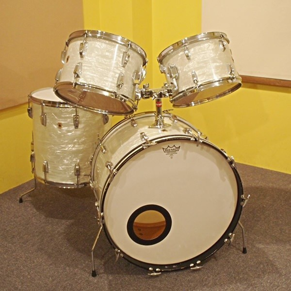 LUDWIG / 60 's OLD MAPLE 22BD SET:22X14BD 12X8TT 13X9TT 16X16FT