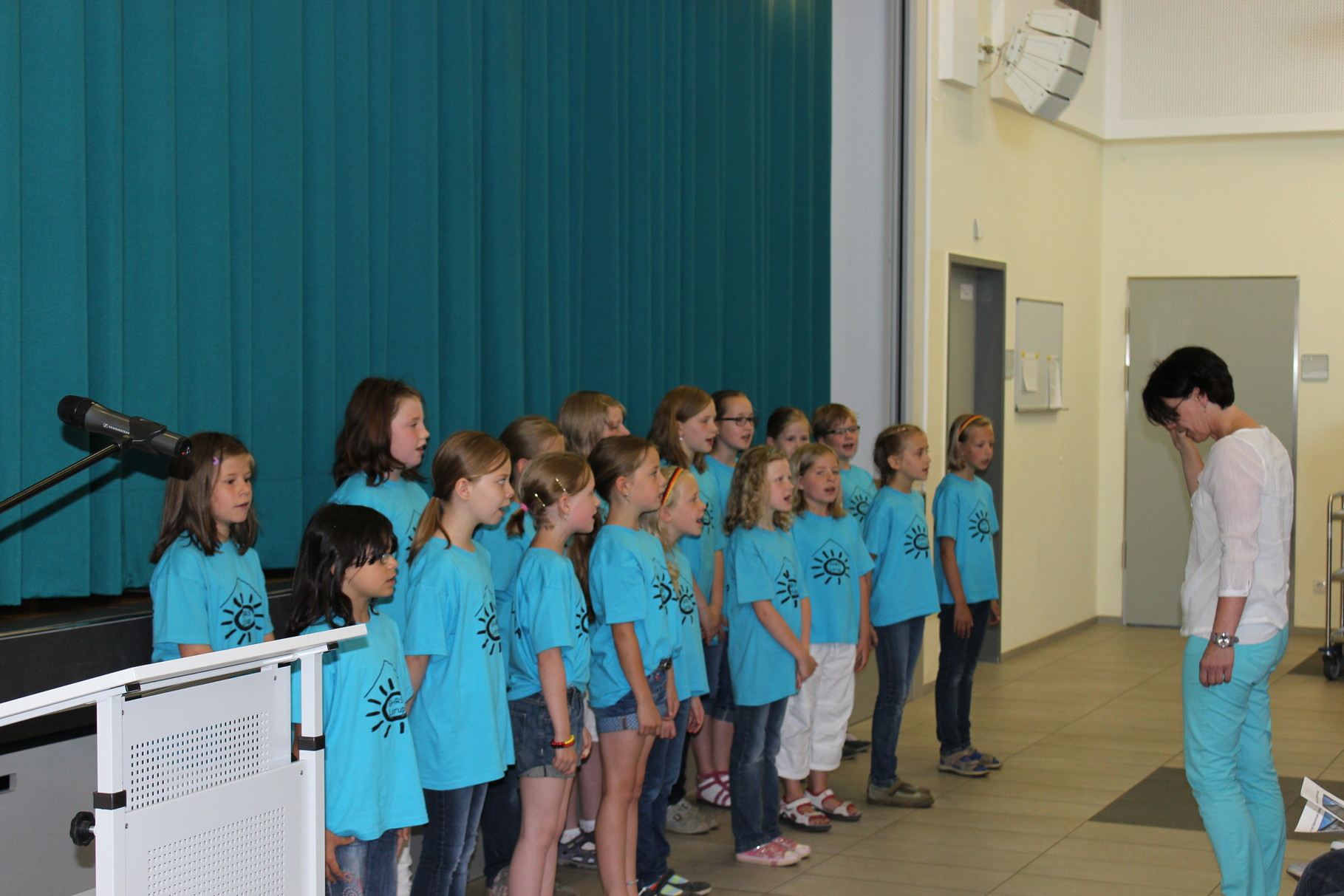 Der Chor der Grundschule