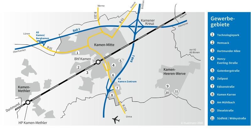 Grafik: Stadtverwaltung Kamen