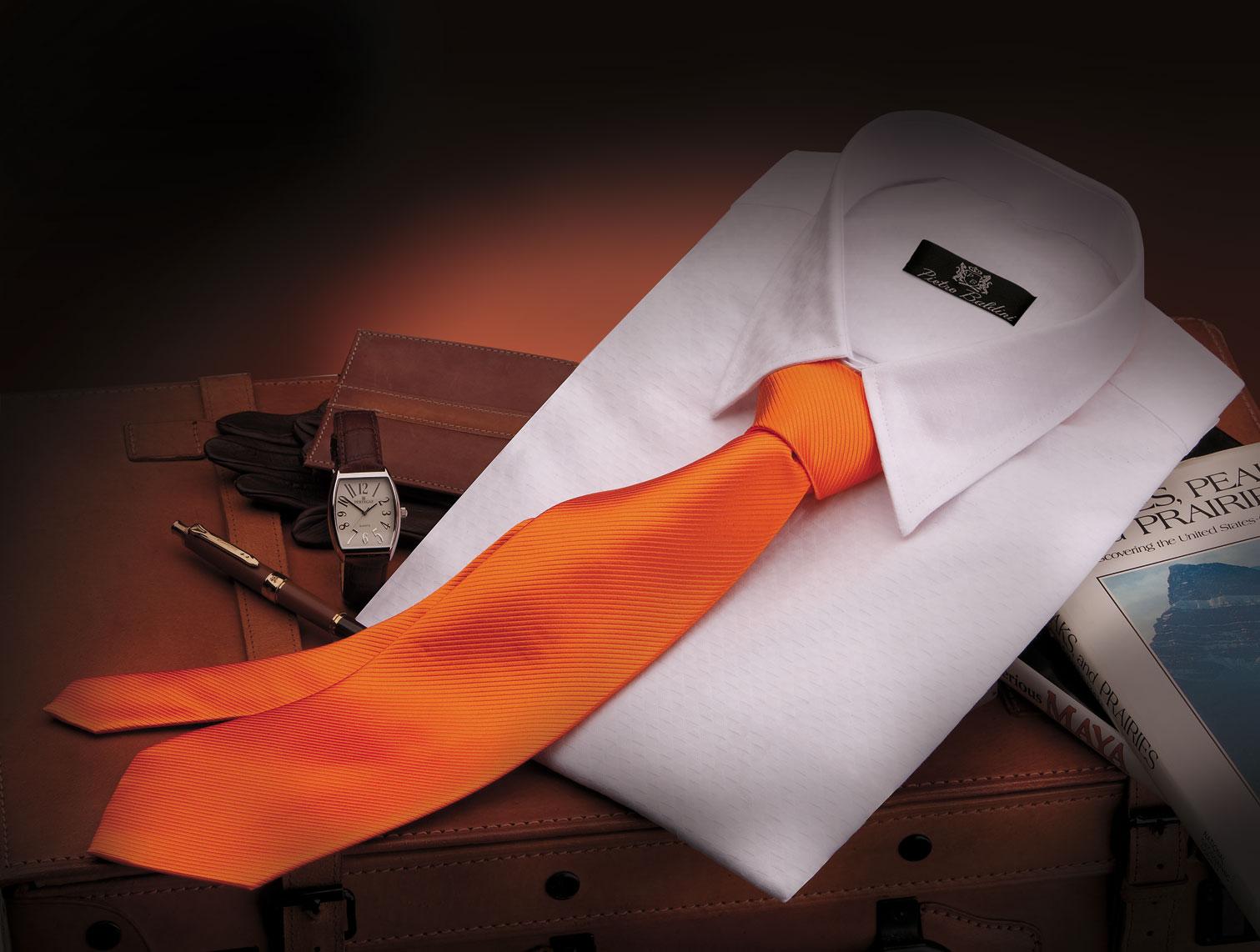 Corbata naranja Ottoman