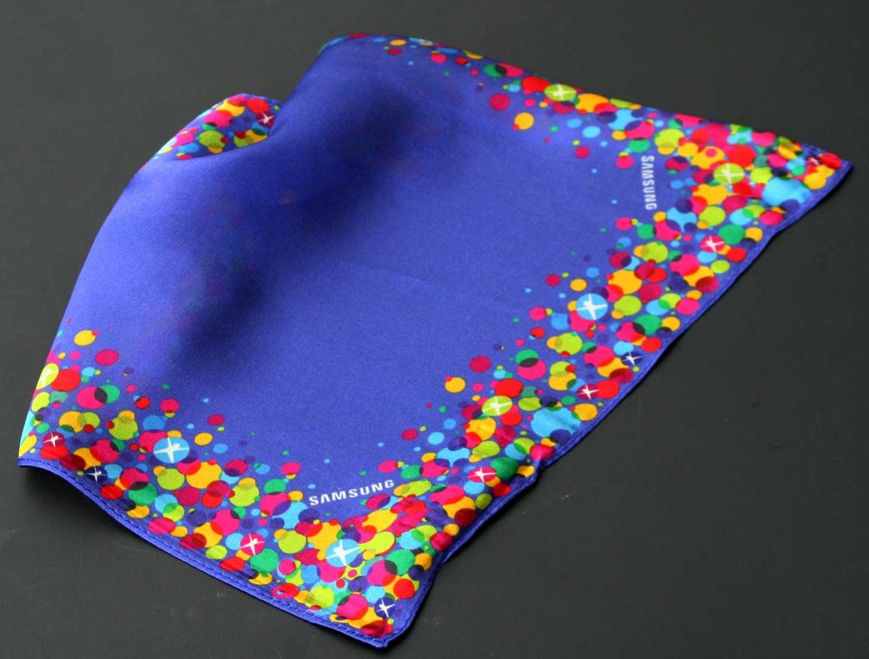 Pañuelo bolsillo corporativo en Twill de seda, Alemania