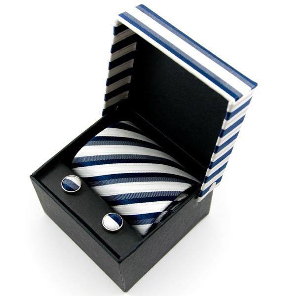 Estuche regalo, compuesto de una corbata a su gusto ,gemelos y estuches a conjunto